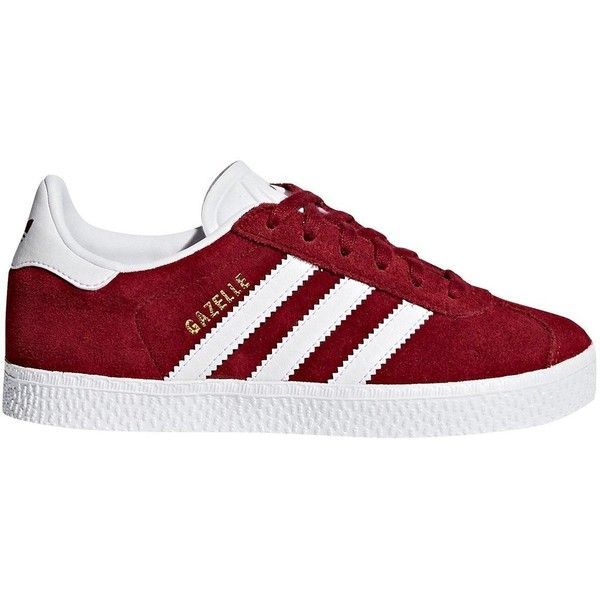 Adidas Originals Adidas Originals Gazelle Childrens Trainer ($59) ❤ liked on Polyvore featuring shoes, sneakers, adidas originals, textile shoes, adidas originals trainers, fleece-lined shoes and adidas originals sneakers