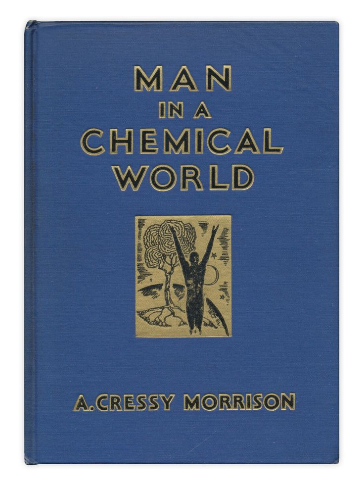 Man in a Chemical World: The Service of Chemical Industry - 1937 first edition scientific reference - Free US Shipping http://etsy.me/2yTBmM0