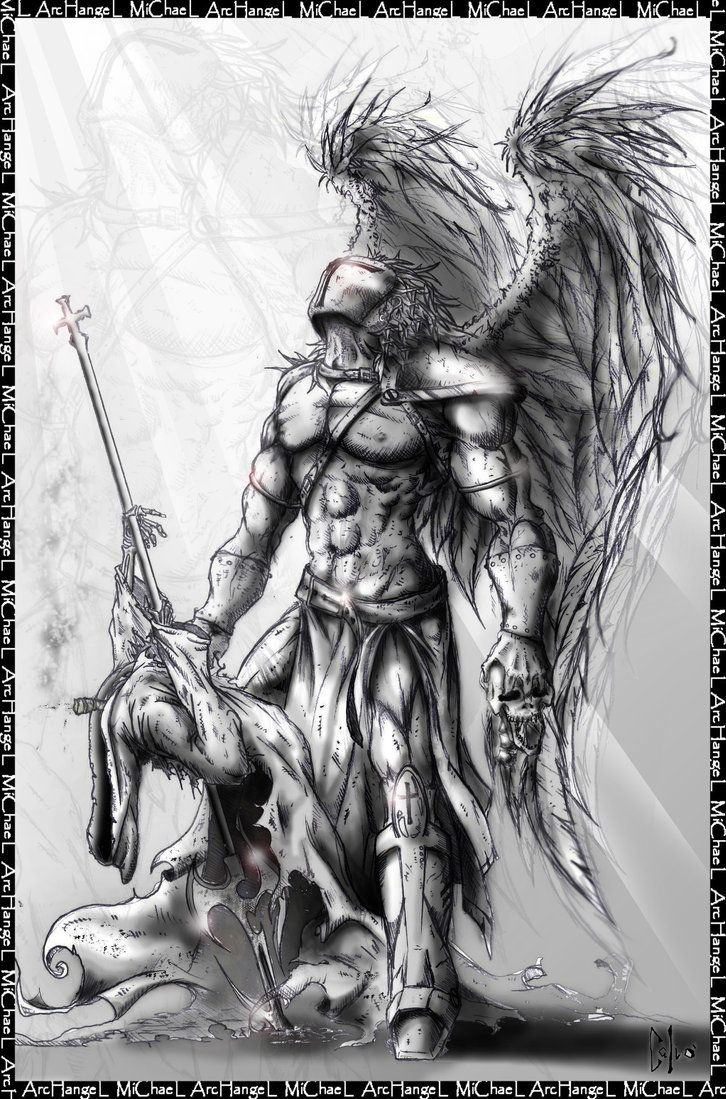 Archangel michael-Nevermore by DraftmanArt.deviantart.com on @DeviantArt