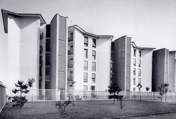 Ignazio #Gardella, Quartiere Mangiagalli,  Via De Predis, Via Airaghi, Via Jacopino da Tradate - 20100, #Milaan