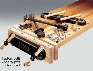 Veritas Tools - Vises and Clamping - Twin-Screw Vise