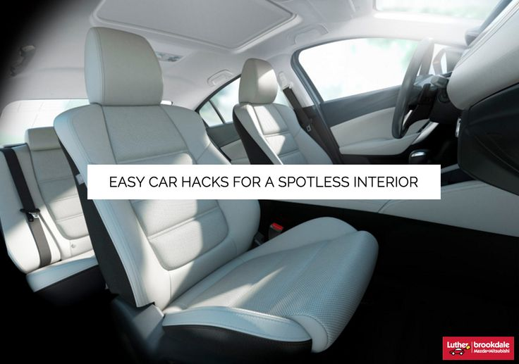Car Hacks for a Clean Car | from Luther Brookdale Mazda dealership near Minneapolis. Easy ways to get your car clean. Easy cleaning hacks. Car Hacks. DIY Car cleaning tips and tricks.