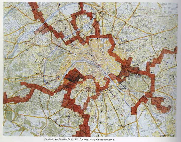 The Map and the Territory | nelgraphics | Guy Debord