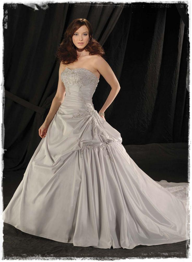 Bonny Bridal: Shimmering Silver Wedding Gowns