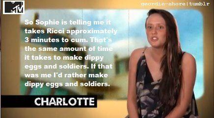 Charlotte from Geordie Shore
