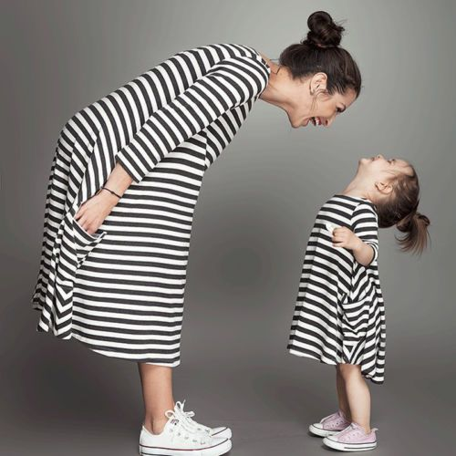 Cute outfits, accessories and more to make your mother daughter matching outfits! Mommy and me clothing never looked better.