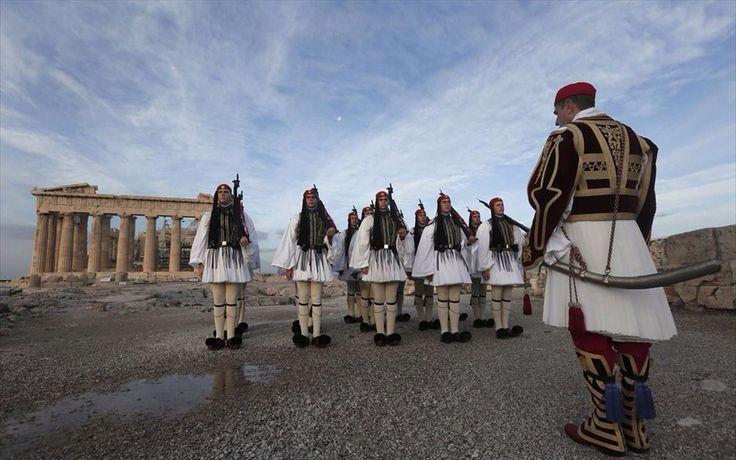 Greek evzones