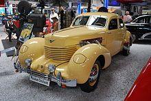 Cord automobile - Wikipedia, the free encyclopedia.  1937 Cord 812 Westchester sedan.