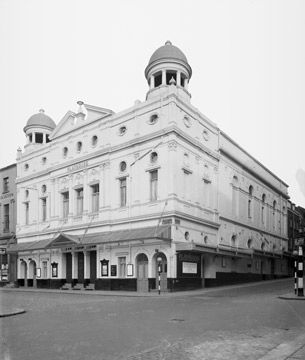 Playhouse Theatre, Liverpool, exterior, 1950 - Merseyside Maritime Museum, Liverpool museums