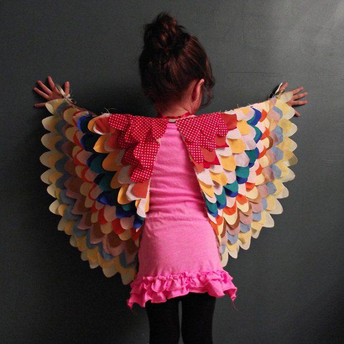 Déguisement oiseau pour fille - Marie Claire Idées