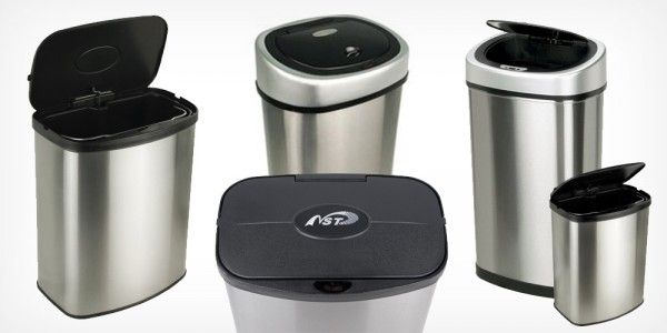We've all been there. You just finished dicing up #raw #chicken, #beef or #fish and need to throw away the scraps and packaging, but your hands are covered in #bacteria, so you can't lift the lid on the #trashcan. Maybe you've already upgraded to one with step-operated-lid, but even then you can get tripped up. With this #motionsensor #trash #can, the lid opens with just a wave of the hand.
