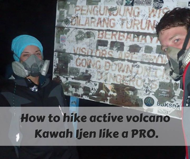 Wanna know how to hike active volcano #KawahIjen in #Java? Learn from these! It is intense but worth it. Doing this hike my first item on #bucketlist has been finally checked. Yay! https://goo.gl/nXiva4