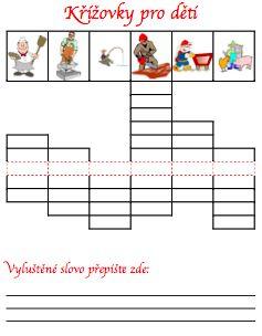 Křížovky pro děti 5