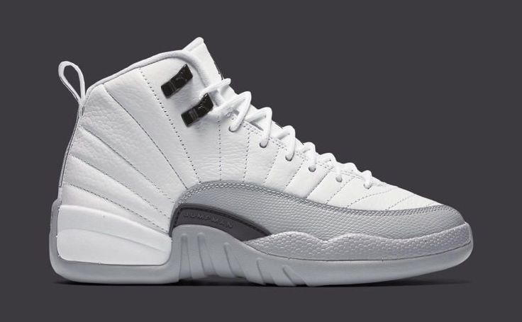 "Up close with the Air Jordan 12 Retro GS ""Barons"" 