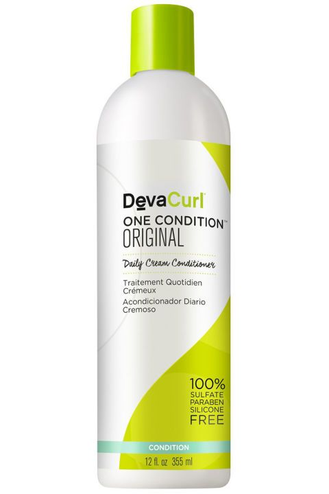 The lightweight, silicone-free conditioner is a heavy hitter when it comes to moisture. It adds intense softness and shine without leaving any residue behind. Devacurl One Condition, $22, ulta.com