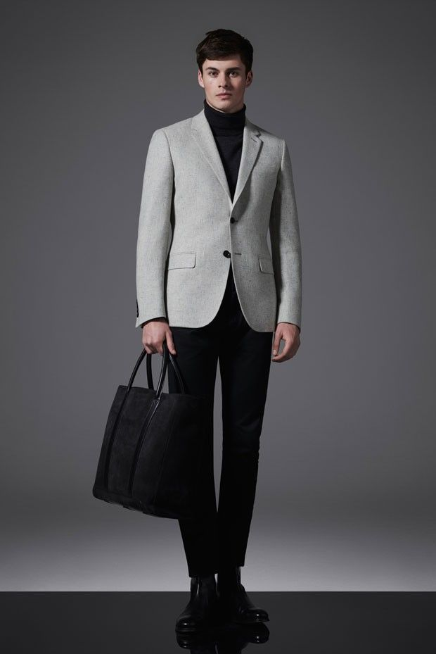 Joe Collier Models REISS Menswear Autumn Winter 2015   Lookbooks Men s Style  Tips   Menswear, Mens fashion, Men style tips 81e9f73724