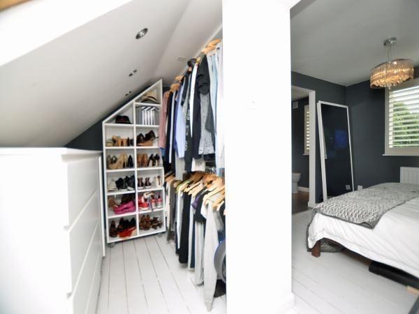 Loft Conversion Walk In Wardrobe