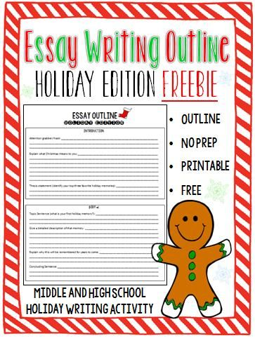 best christmas essay ideas holiday writing  looking for an activity for your students to complete during the last few days before christmas christmas essayteaching activitiesfavorite holidaymiddle