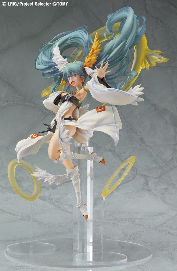 "Crunchyroll - Max Factory's 1/1 Scale ""Sun Priestess Tamayorihime"" from ""selector infected WIXOSS"" Previewed"