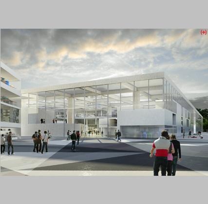 Arquitectura Viva. Revistas de Arquitectura - Noticias - OMA ampliará la Escuela Central de Ingeniería de París Saclay