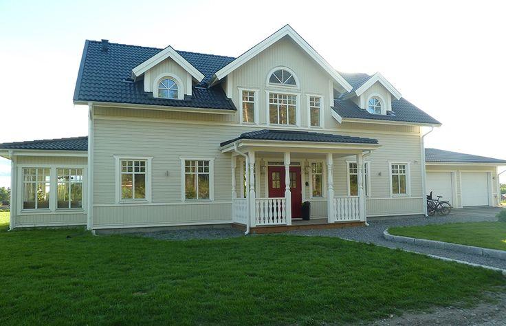 Spoven - 1 3/4-planshus - Fiskarhedenvillan