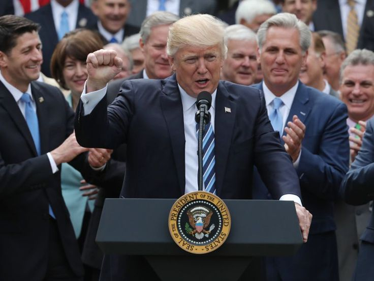 The House of Representatives has passed a new healthcare bill, meaning that President Donald Trump is one step closer to repealing Obamacare, otherwise known as the Affordable Care Act. Here is a breakdown of how Mr Trump's healthcare plan differs from former President Barack Obama's.  Number of people left uninsured