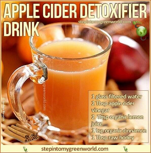 Detox drink yummy deliciousness pinterest apple for Cocktail detox