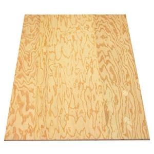 Sheathing Plywood (Structural 1) (Common: 3/8 in. x 4 ft. x 8 ft.; Actual: 0.344 in. x 48 in. x 96 in.) 654658 at The Home Depot - Mobile