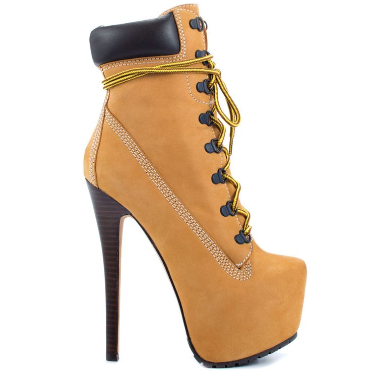 Timberland High Heel Boots Shoes