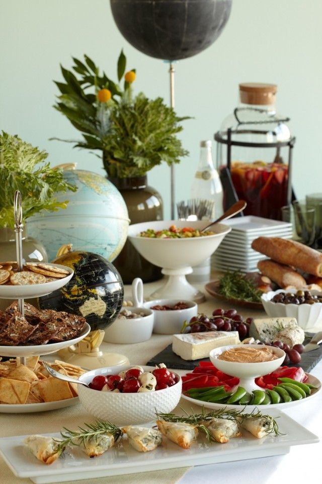 Buffet for a Party or Baby Shower