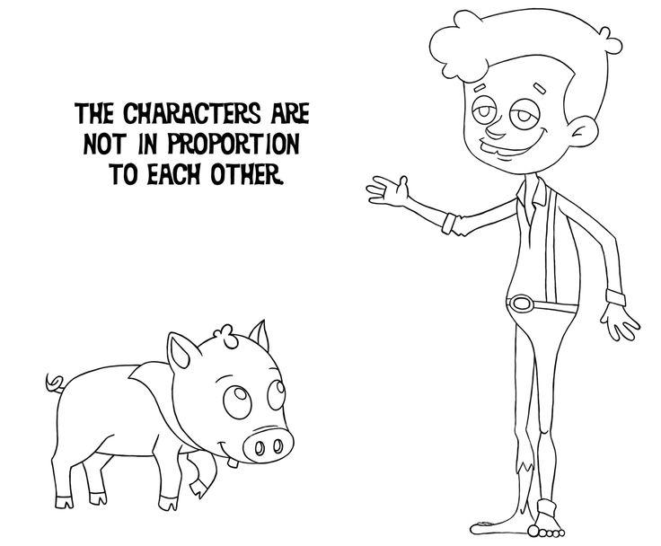 Farm Boy and Pig Pet.