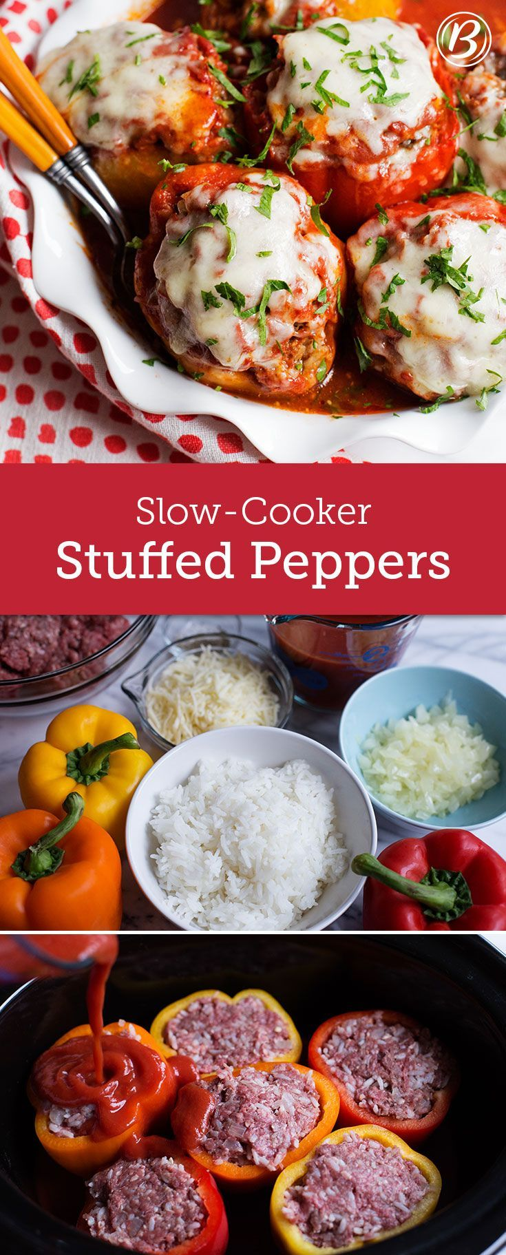 Slow Cooker Stuffed Peppers Recipe Jack O Connell