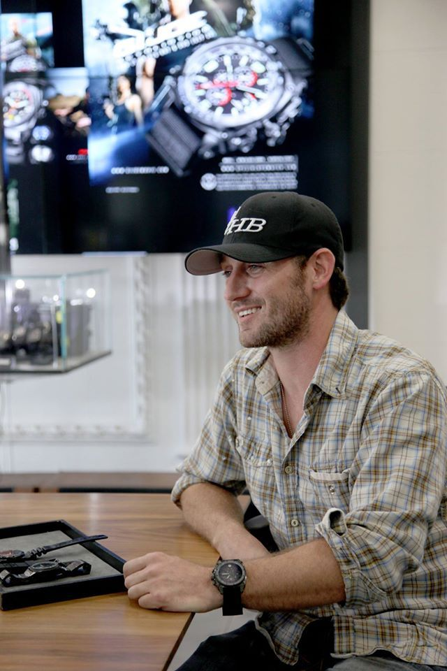 @Josh Stewart. Sexy watch wearer of the @MTMspecialops #Predator