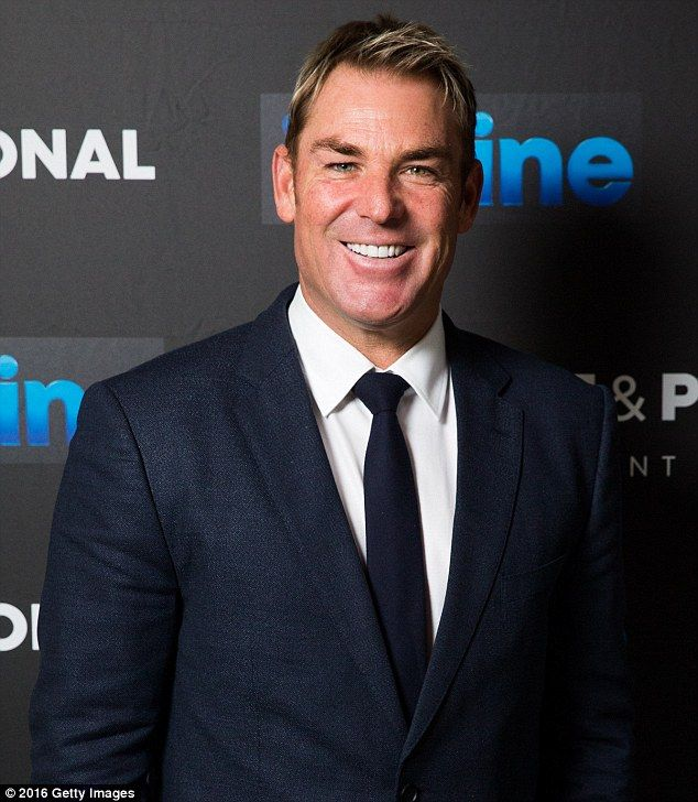 'I've had some really bad hairstyles over the years - really bad stuff': Shane Warne spoke to WSFM's Jonesy & Amanda on Friday about his famous hairstyles
