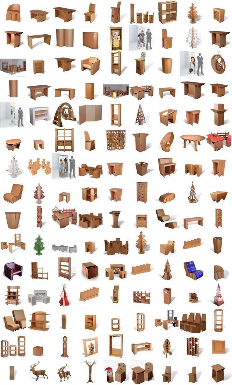160 best cardboard furniture images on pinterest cardboard furniture carto - Orika mobilier carton ...
