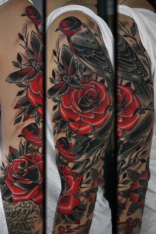 Stefan Johnsson - California Electric Tattoo Parlour in Santa Cruz