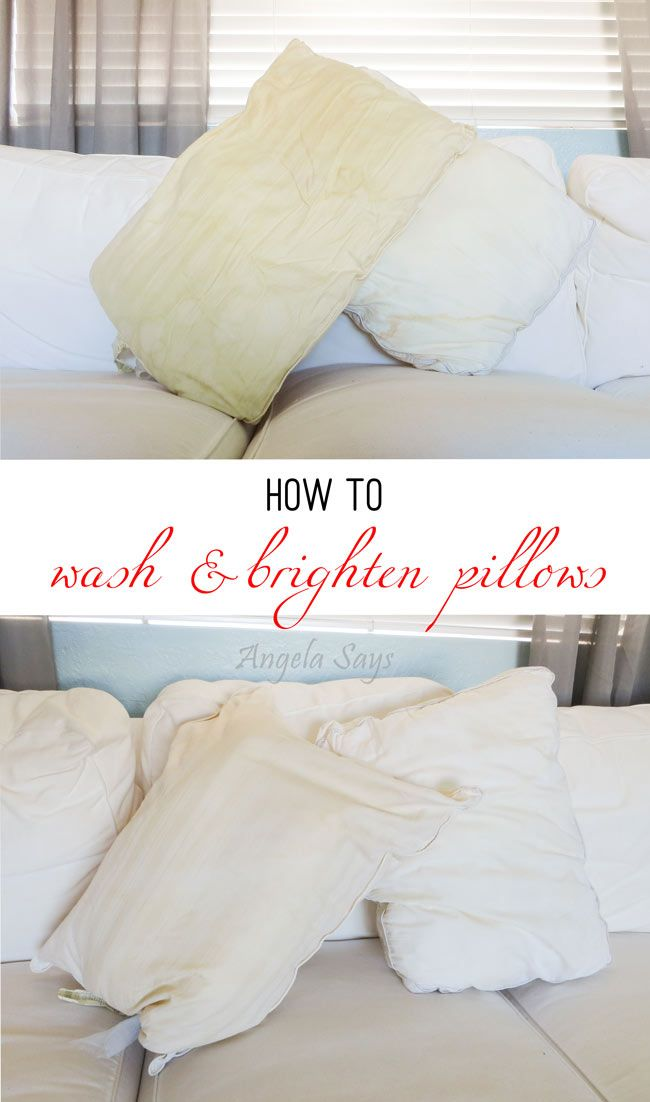 Best 25+ Wash pillows ideas on Pinterest | Whiten pillows, How to clean  pillows and Wash feather pillows