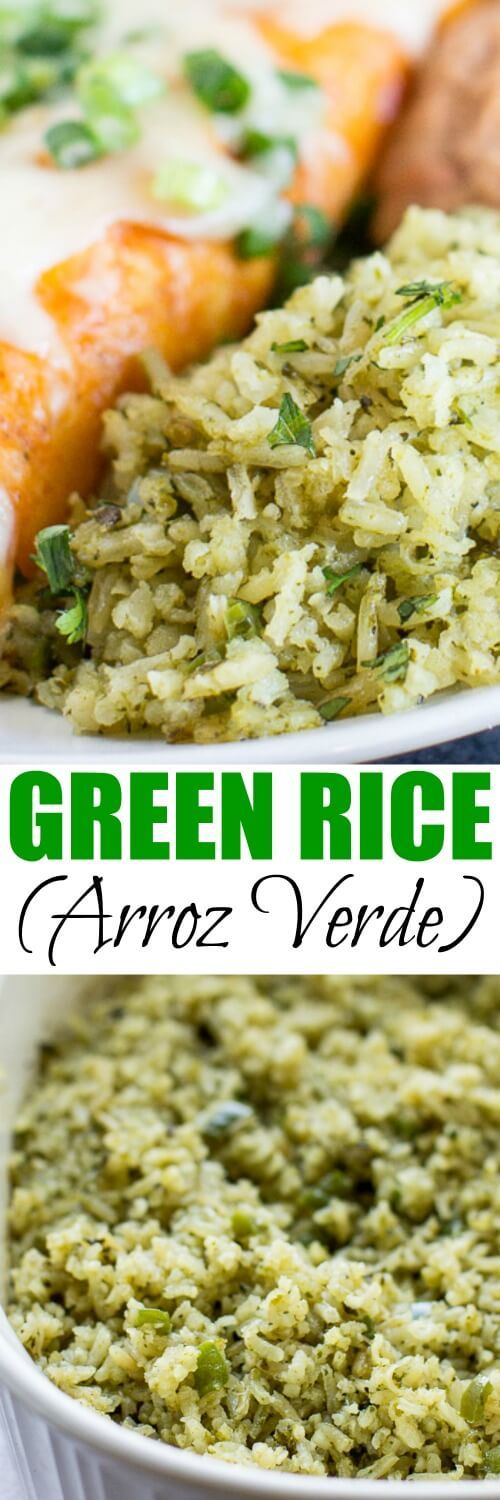 Green Rice, also known as Arroz Verde, is an upgraded, special-occasion version of Mexican Rice. Go ahead, try something new! Your family is going to LOVE IT.