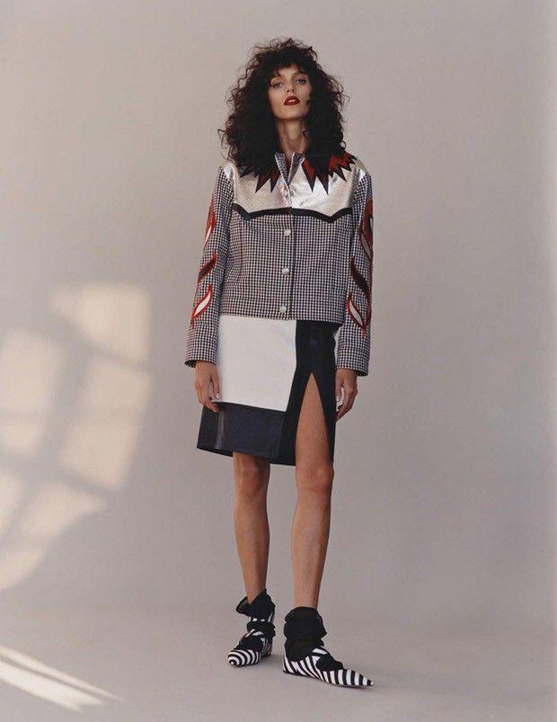 Аня Рубик в Vogue Paris (Интернет-журнал ETODAY)