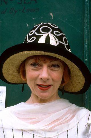 "Geraldine McEwan in "" Mapp & Lucia ""series is hilarious."