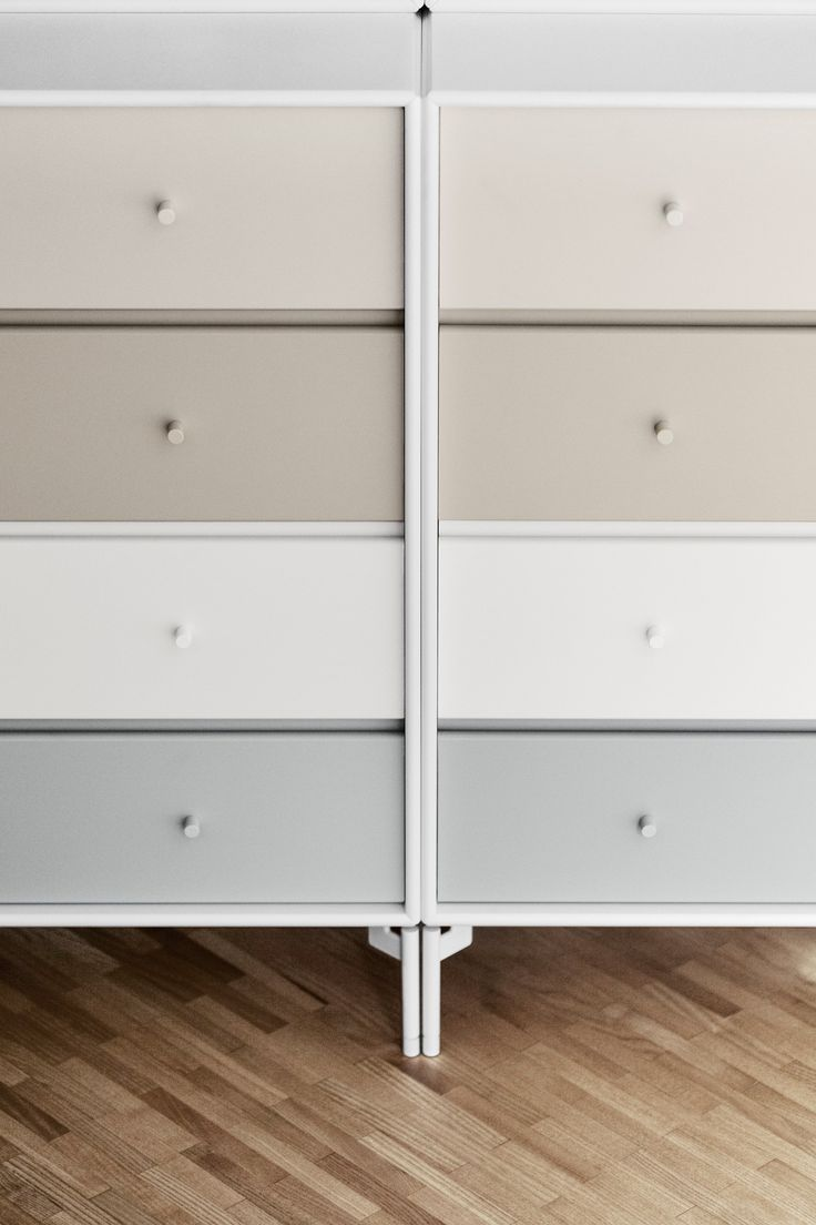 Soft pastels details. #montana #furniture #danish #design #storage #pastels #interior #montanafurniture