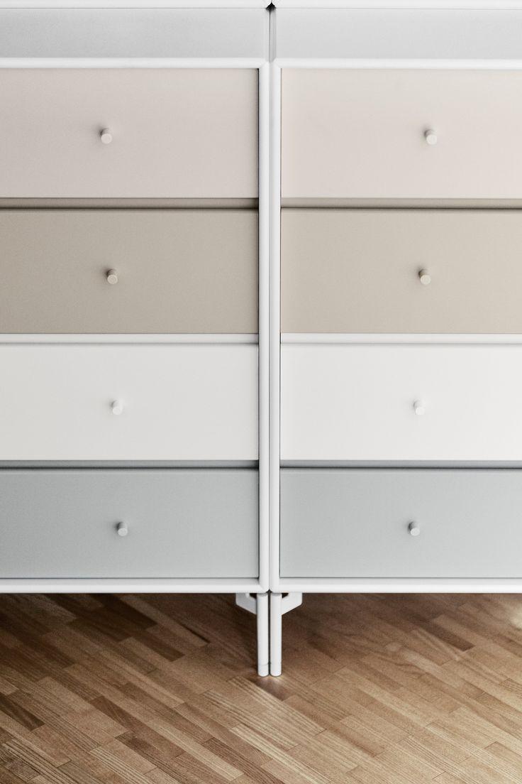 Soft pastels details. #montana #furniture #danish #design #storage #pastels #interior #montanafurniture