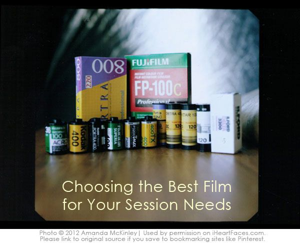 How to Choose the Best Film for Your Session - Film Photography Tutorial via I Heart Faces