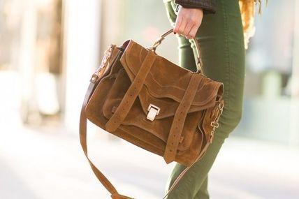 Proenza Schouler PS1 bag Large in Saddle Brown