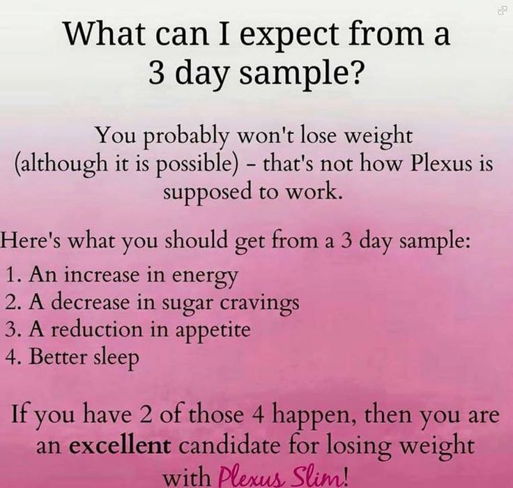 Want to try Plexus? A 3 or 7 day sample is a great way to try it out without the full commitment.