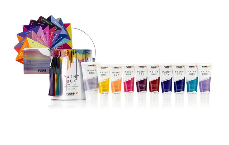 Fudge Professional Paintbox Collection.
