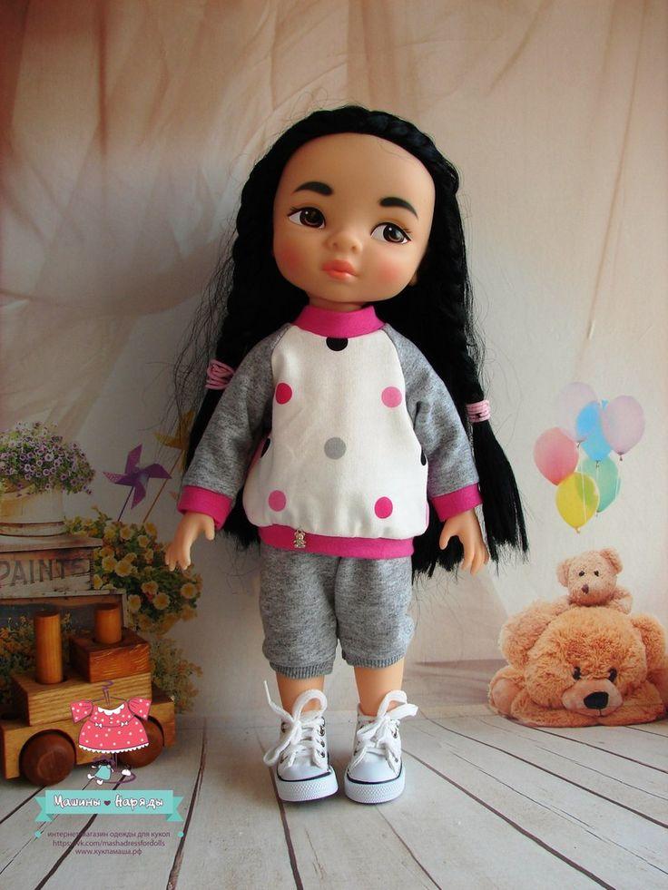 """Одежда и обувь для кукол Дисней """"Машины наряды"""""""