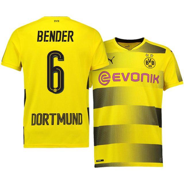 Borussia Dortmund Home Kit 17-18 bender