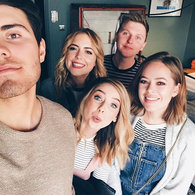 Some of @Zoella's birthday gang 🎉
