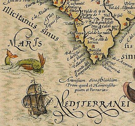 Chronological index of the original maps of centuries XVI, XVII, XVIII and XIX